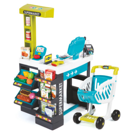 SMOBY Supermarket, turquoise/vert
