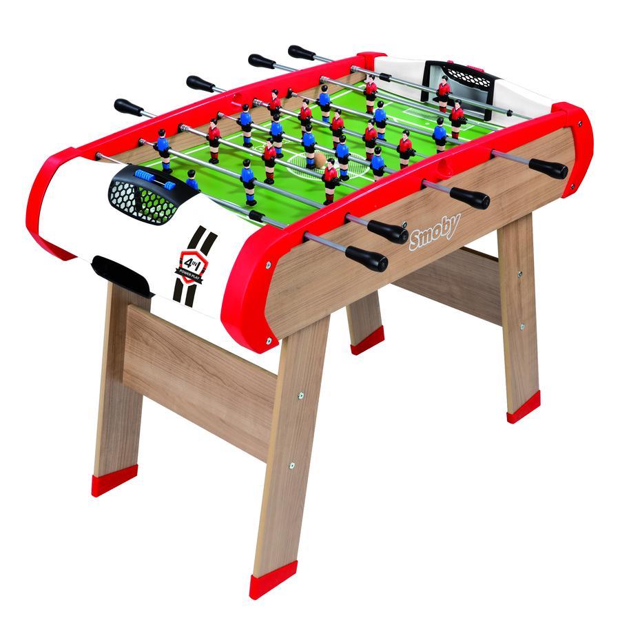 Smoby Stół Piłkarzyki Powerplay 4-w-1