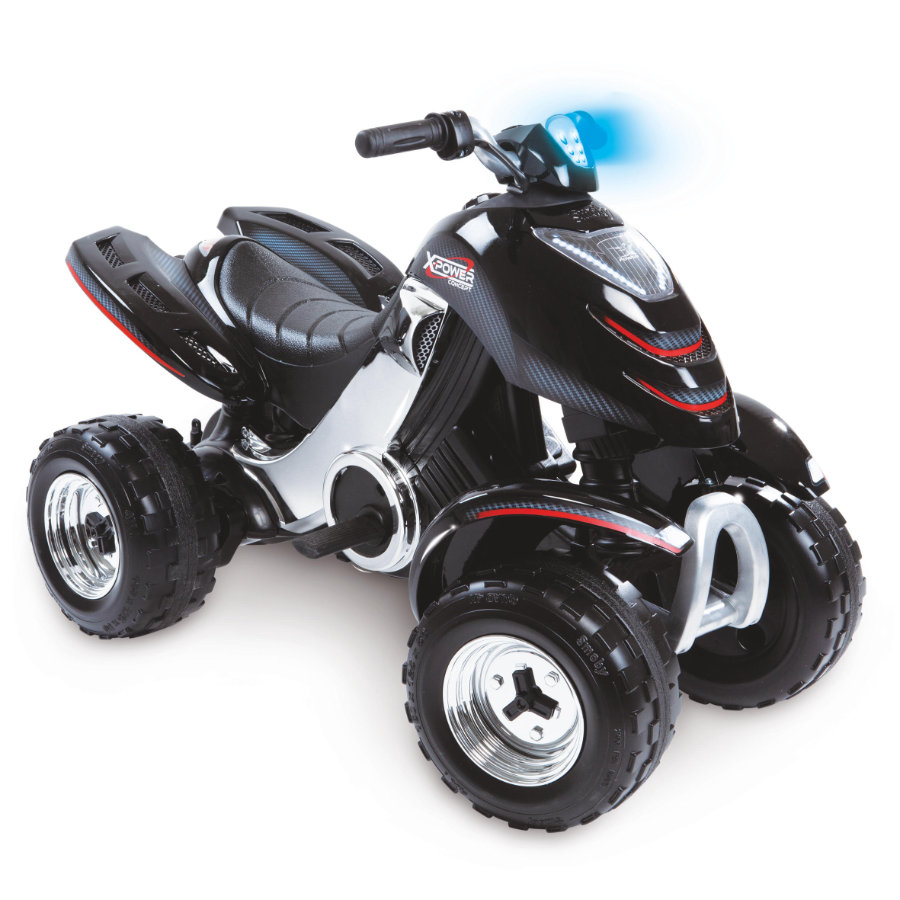 Smoby Elektrisk fyrhjuling X-Power Quad, carbon