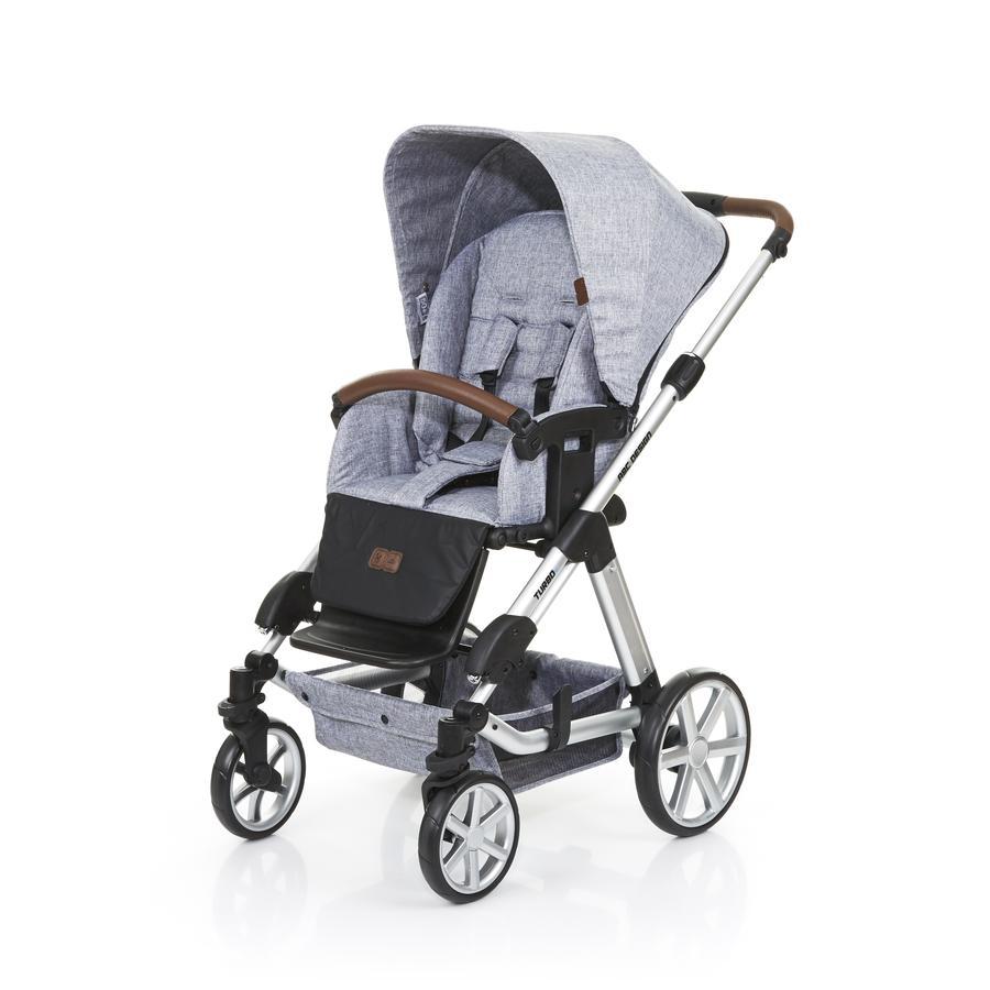 ABC DESIGN Wózek dziecięcy Turbo 4 graphite grey + gondolka