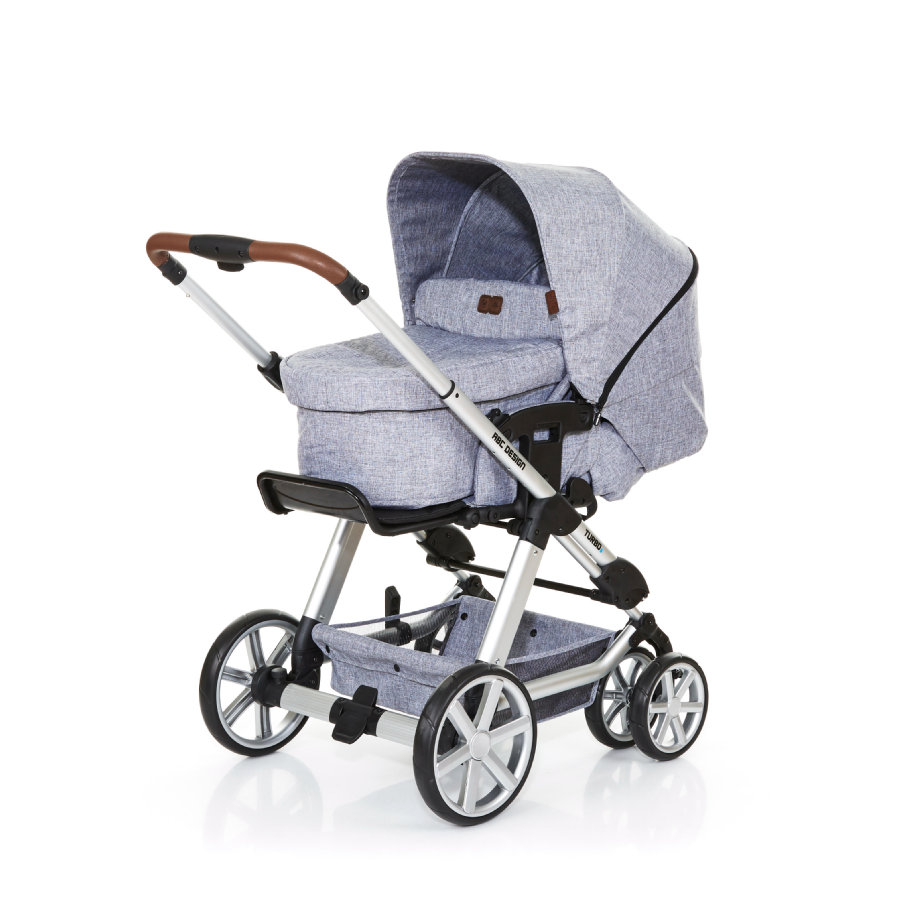 ABC DESIGN Passeggino combi Turbo 6 incl. navicella  graphite grey