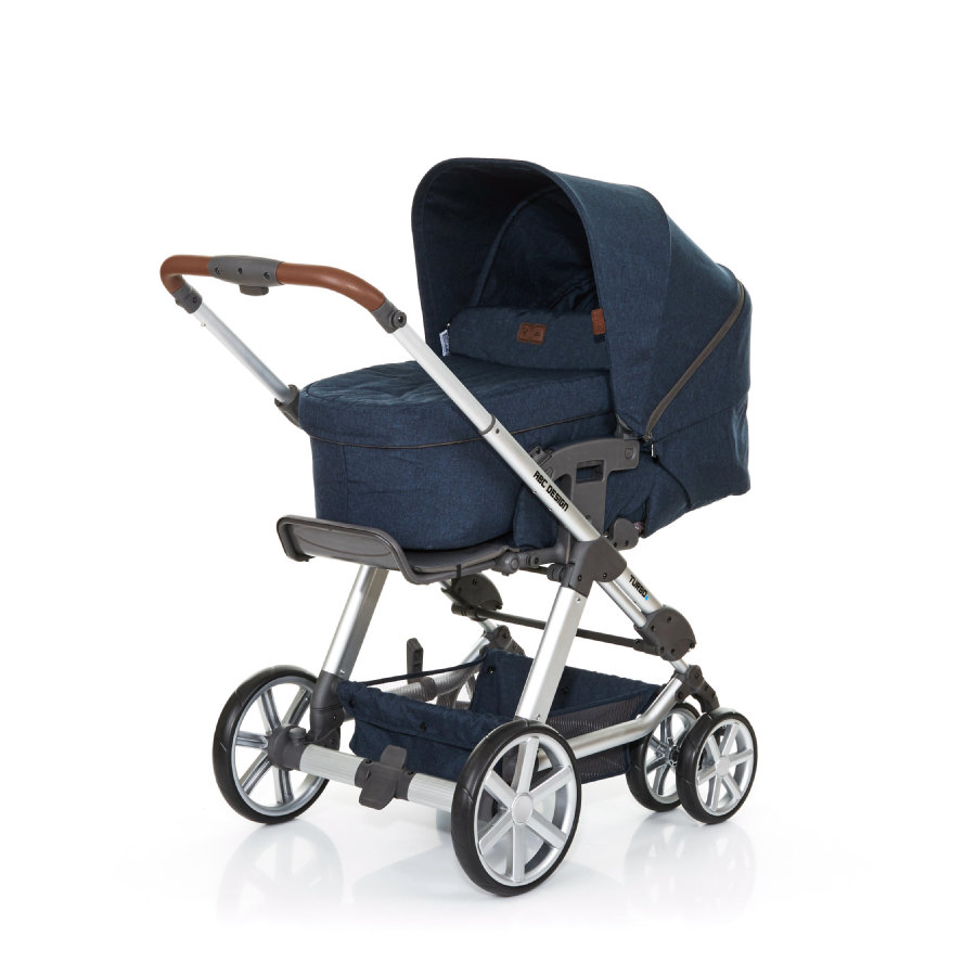 ABC DESIGN Passeggino combi Turbo 6 admiral incl. navicella