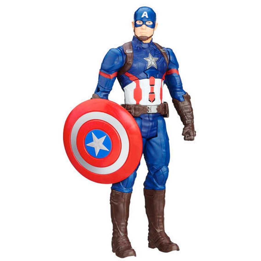 Hasbro The Avengers - Elektronischer Titan Hero Captain America