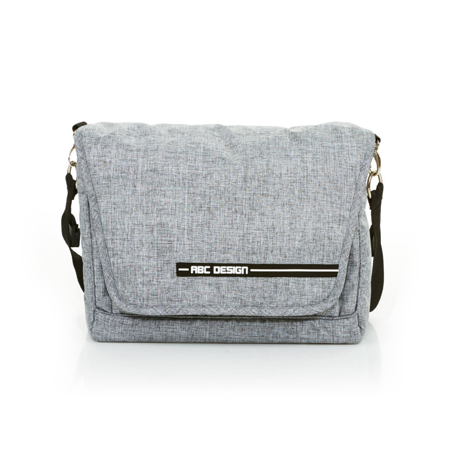 ABC DESIGN Wickeltasche Fashion graphite grey
