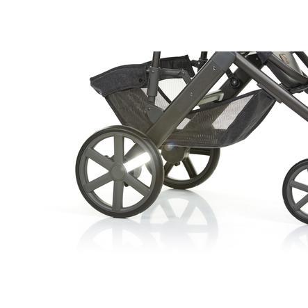 ABC DESIGN Kit réflecteurs pour poussette, silver