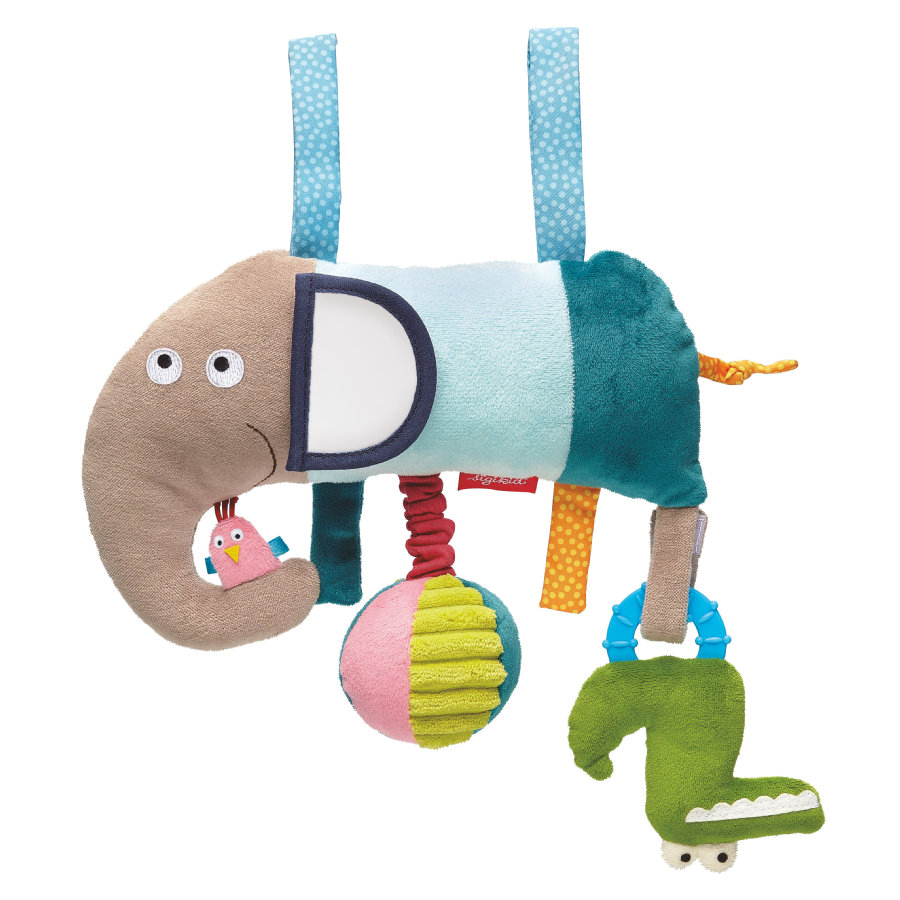 SIGIKID Activity Hanger Elefant - Crocodile's Friends