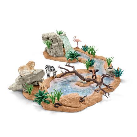 Schleich Figurine grande aventure au point d'eau 42321