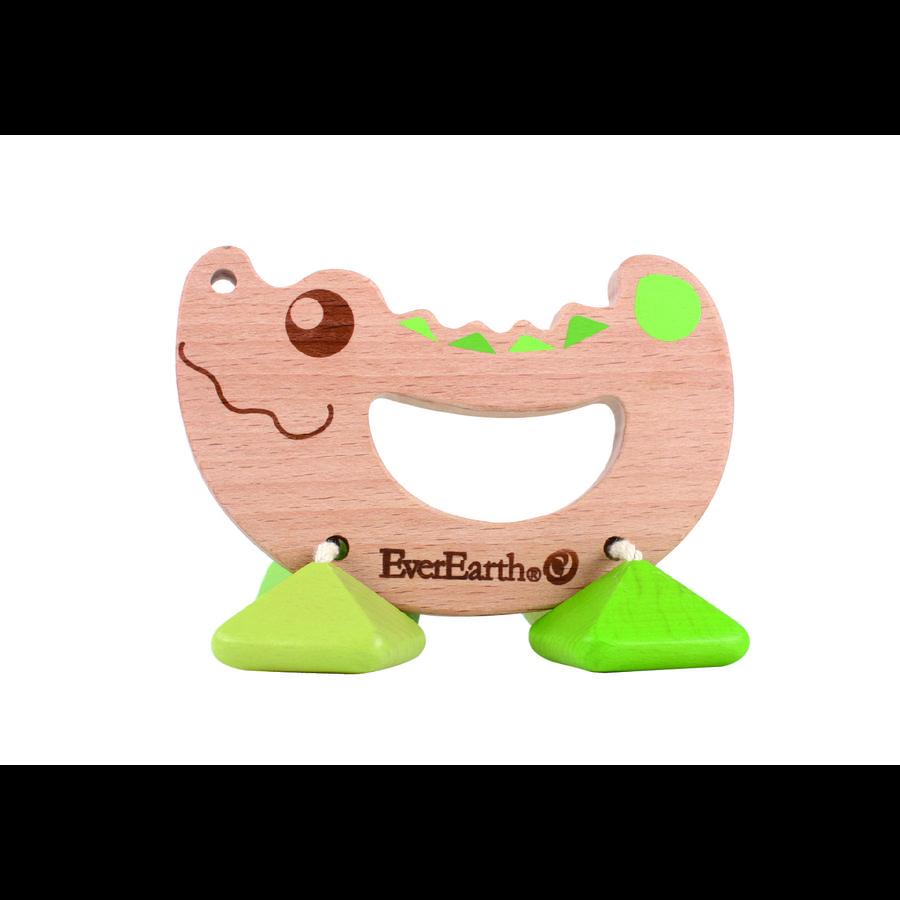 EverEarth® Rassel-Spielzeug Krokodil
