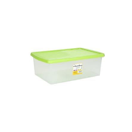 WHAM Whambox Förvaringslåda 37L med lock, grön