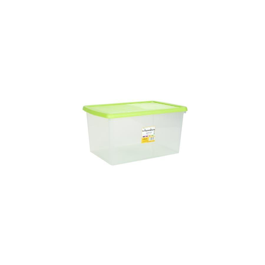 wham® Whambox 54 l s víkem, limetkově zelená