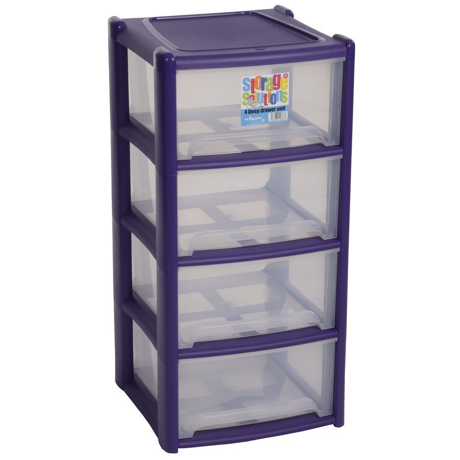 wham® Schubladen-System (4) (Bis zu 2,6m Höhe), pink