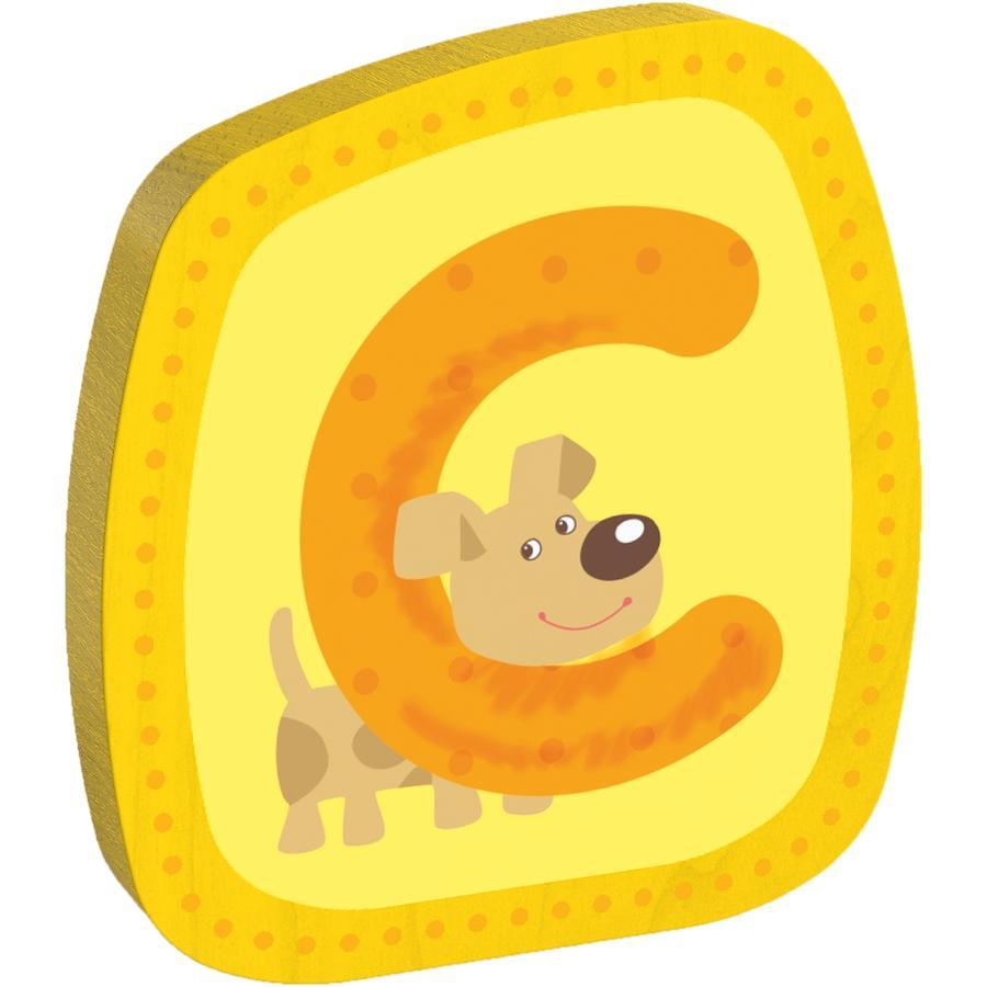HABA Dřevěné písmeno C