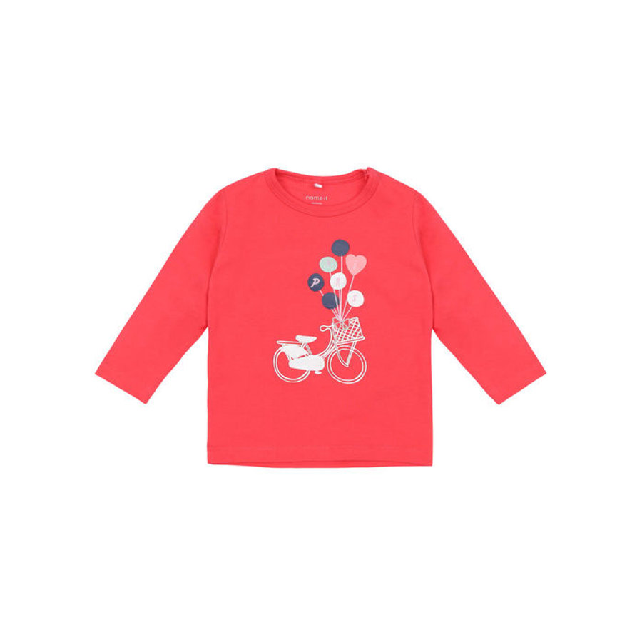 name it Girls Longsleeve Kira Paradise pink