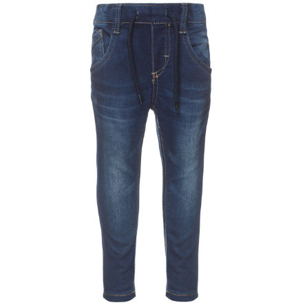 name it Boys Spodnie Jeans Tin dark blue denim