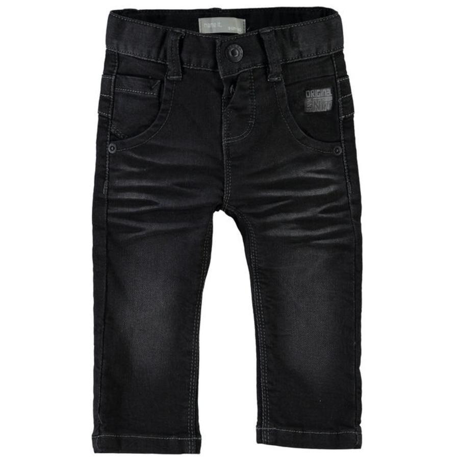 name it Boys Jeans Avin denim negro