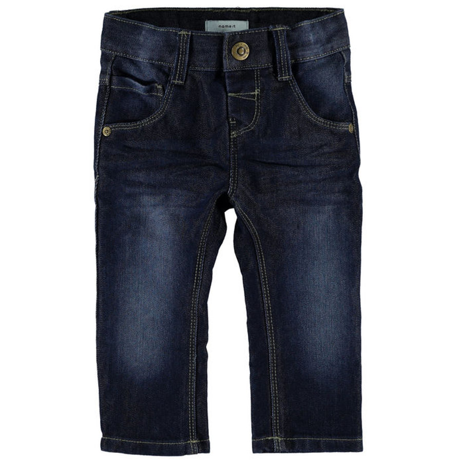 name it Jeans Alex dark blue denim