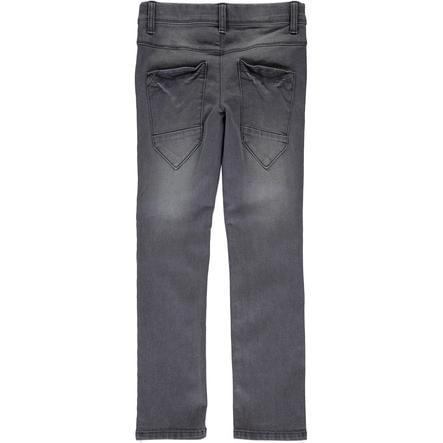name it Boys Spodnie Jeans Ted dark grey denim