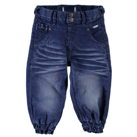 name it Hose Bitten dark blue denim