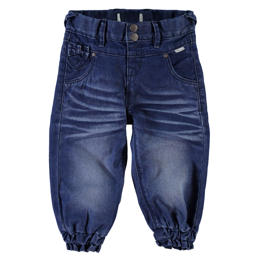 name it Kalhoty Bitten dark blue denim