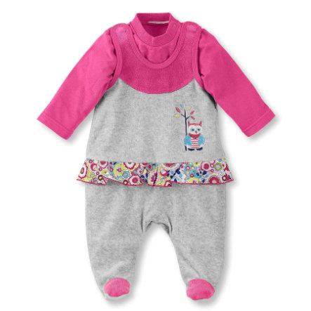 Sterntaler Girls Romper set Nicki Emilie zilver