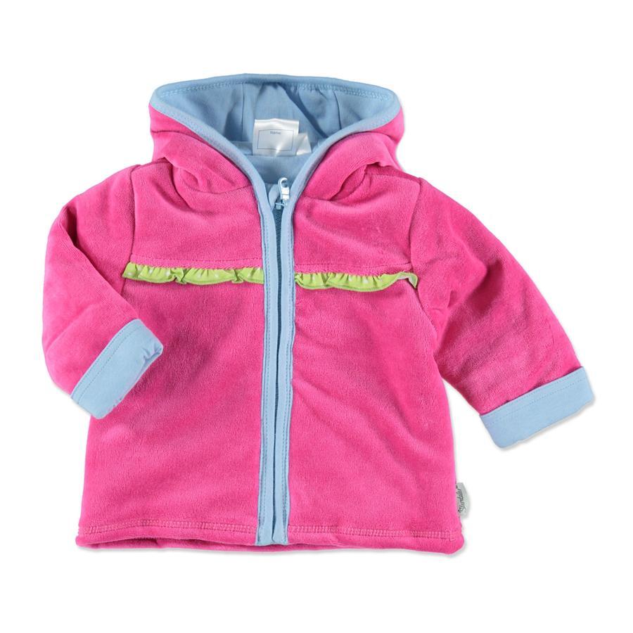 Sterntaler Girl s chaqueta con capucha magenta
