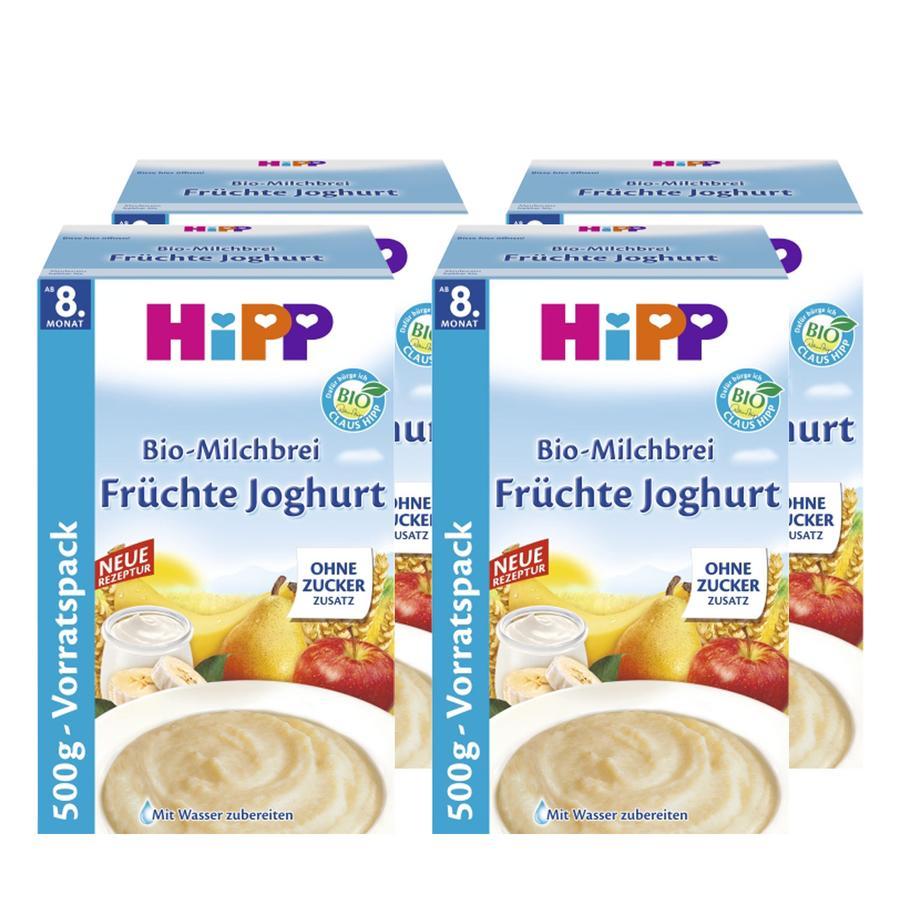 HiPP Bio-Milchbrei Früchte Joghurt 4 x 500 g