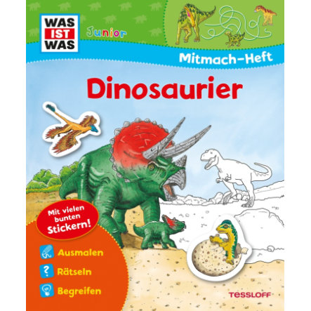 TESSLOFF, WAS IST WAS Junior: Dinosaurier