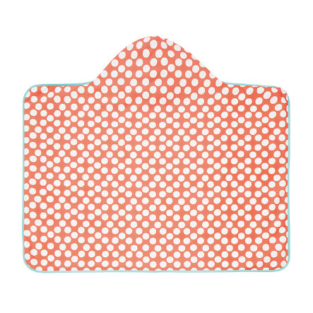 LÄSSIG Girls Kapuzenbadetuch jolly dots