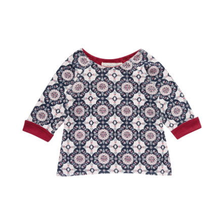 Sense Organics Girls Longsleeve Dolores flowers/flakes and berry