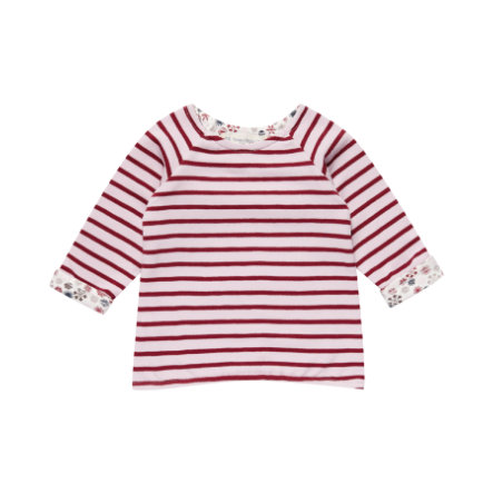 Sense Organics Girls Longsleeve Dolores pale ice pink stripes