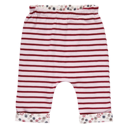 Sense Organics Girls reversible pants Baker multi ditzy stripes