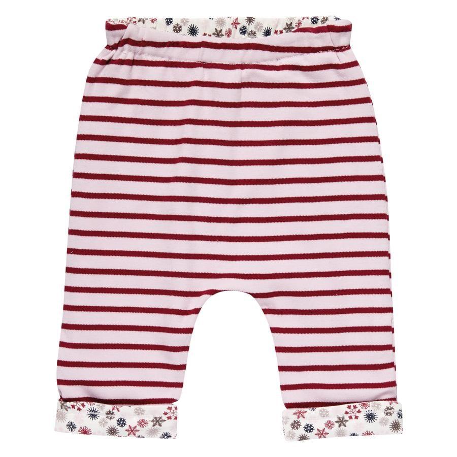 Sense Organics tyttöjen käännettävät housut Baker multi ditzy raidat