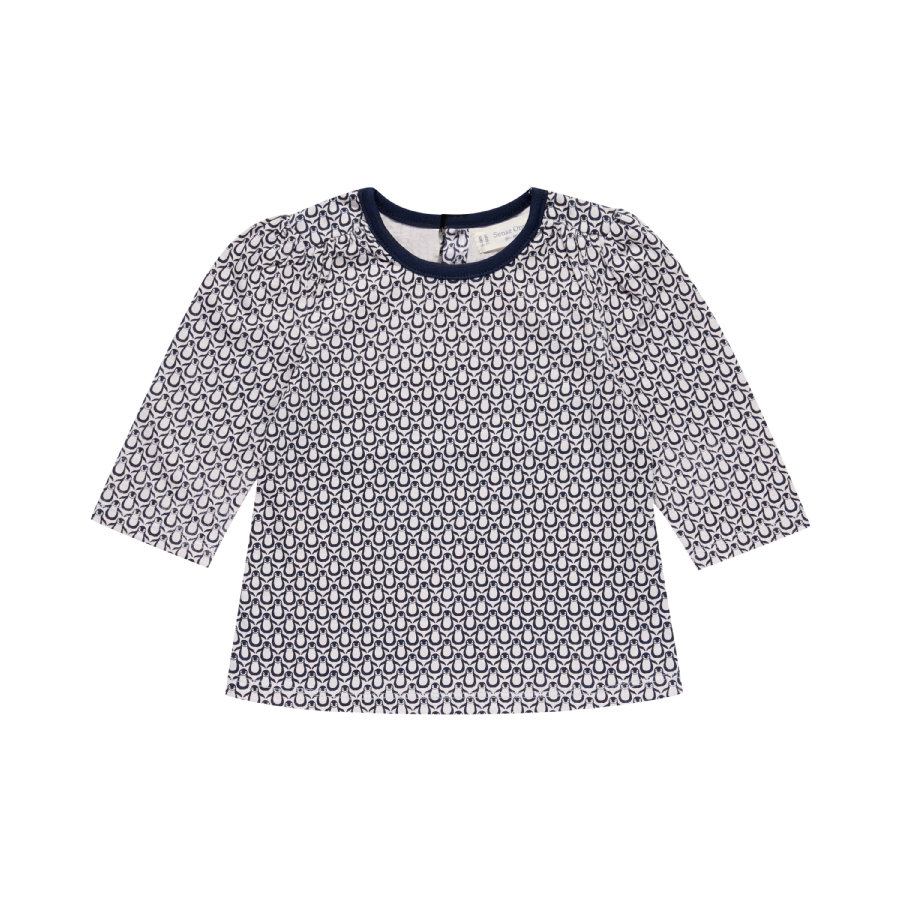 Sense Organics Girls Longsleeve penguis pale ice