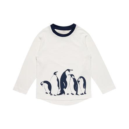 Sense Organics Boys Longsleeve Turid pingvin hvid