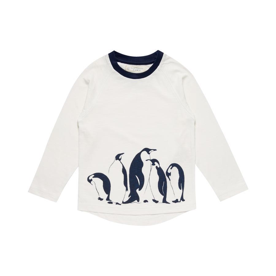 Sense Organics Långärmad Turid pingvin vit