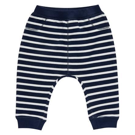 Sense Organics Boys Pantalone felpa Zola nero navy strisce navy
