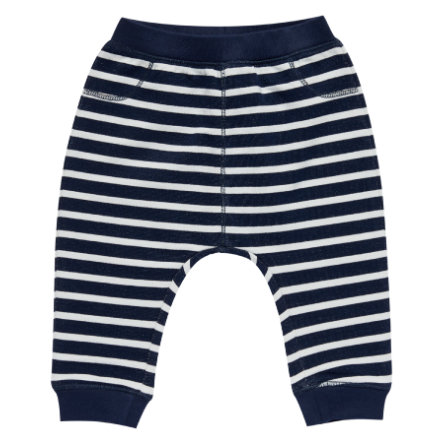 Sense Organics Boys Sweathose Zola black navy stripes