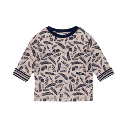 Sense Organics Boys Longsleeve Felix feather and stripes