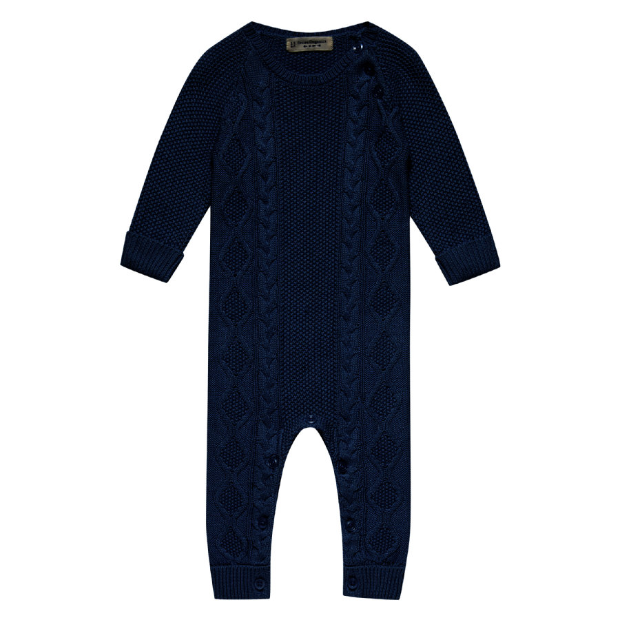 Sense Organics Boys Strickstrampler Hugo black navy