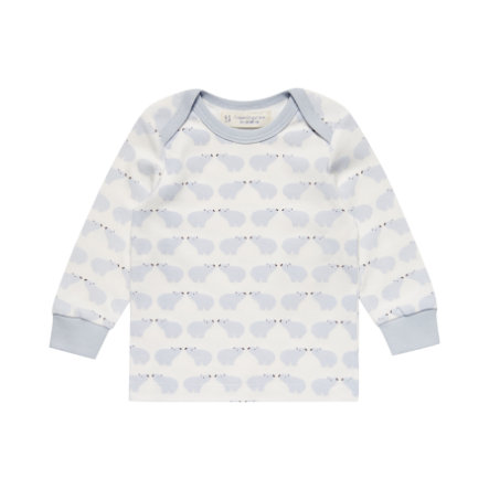 Sense Organics Longsleeve Timber polar bear blue