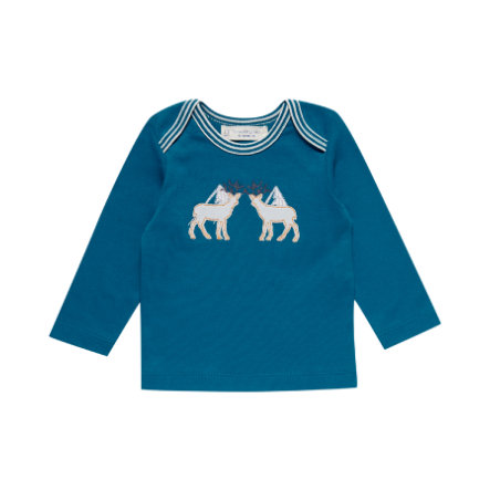 Sense Organics Boys Longsleeve Timber teal blue