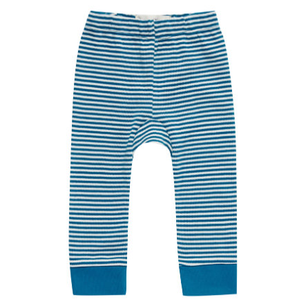 Sense Organics Boys Sweatpants bright retro teal stripes