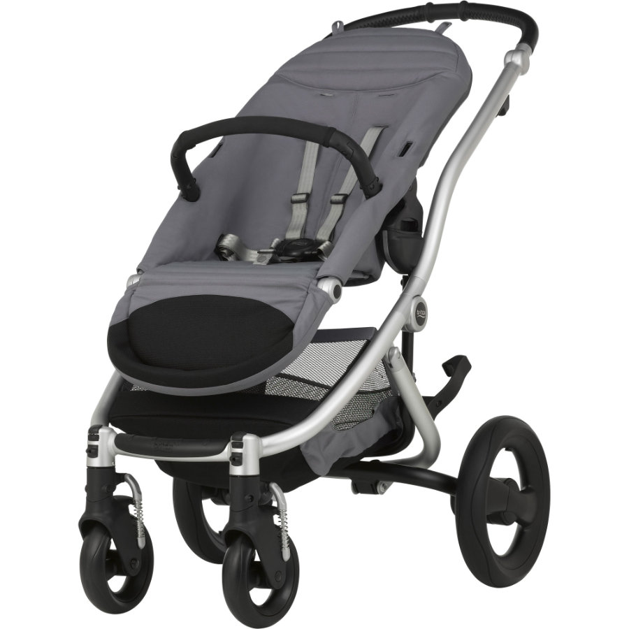 Britax Kinderwagen Affinity 2 Base Model Silver