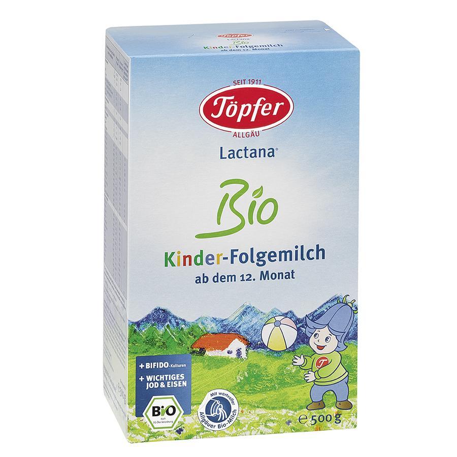 Töpfer Kinder Folgemilch Lactana Bio 500 g