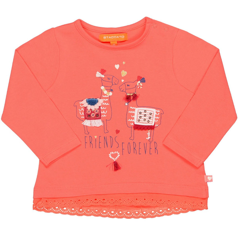 STACCATO Girls Shirt pumpkin