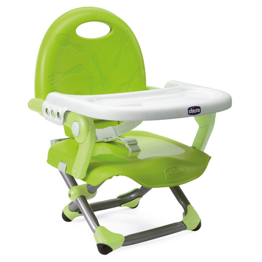 CHICCO Booster Seat Pocket Snack LIME Collection 2015