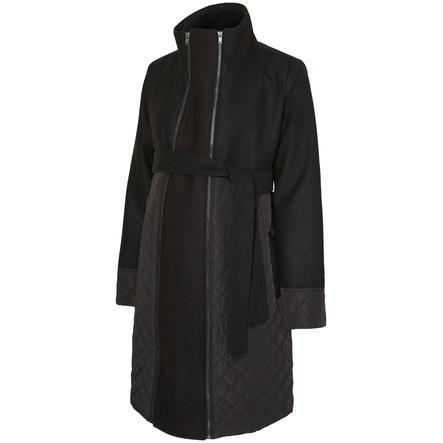 mama licious cappotto circostanza MLGIGGI TIKKA nero