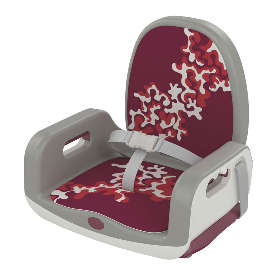 chicco Réhausseur de chaise Up To 5 Cherry