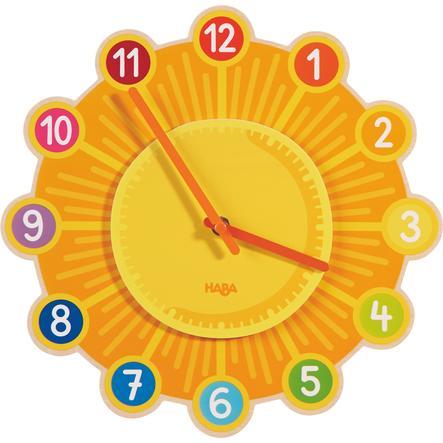 HABA Zegar ścienny Śłoneczko 302308