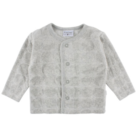 FIXONI Girls Vest light grey melange